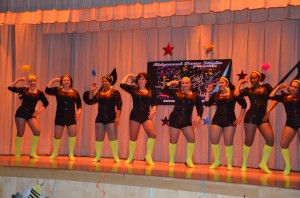 On stage with the Dancers of Ridgewood Dance Studio